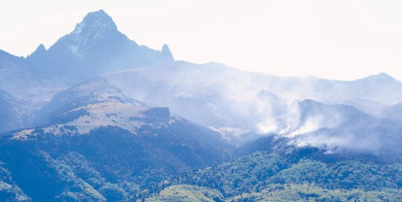 mt kenya fire